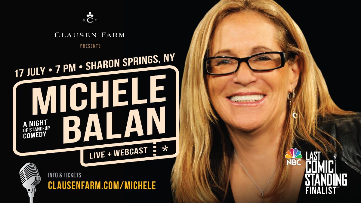 Michele Balan at Clausen Farm